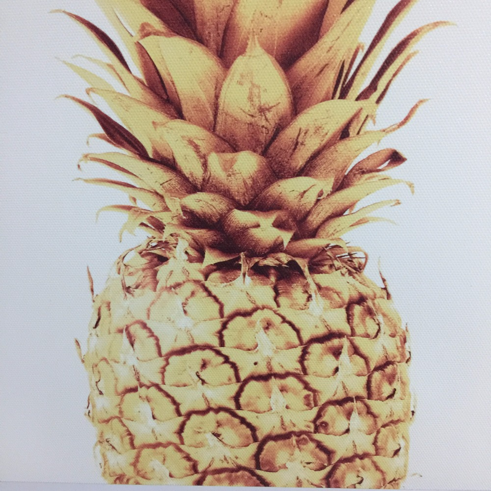 Modern Digital Painting Yesterday Today Tomorrow Golden Pineapple Poster Print Canvas Painting Picture Home Wall Art Decoration in Painting Calligraphy from Home Garden