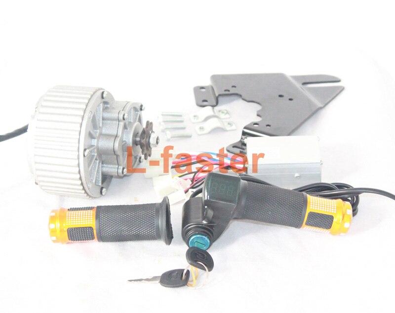 250w 450w Electric Motor Easy Kit Controller Throttle Key