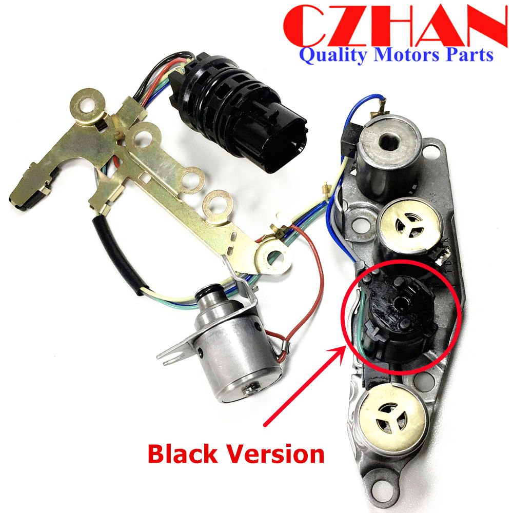 4 Solenoids, 2 Insulated Nissan 31940-41X13 Transmission Solenoid Assembly