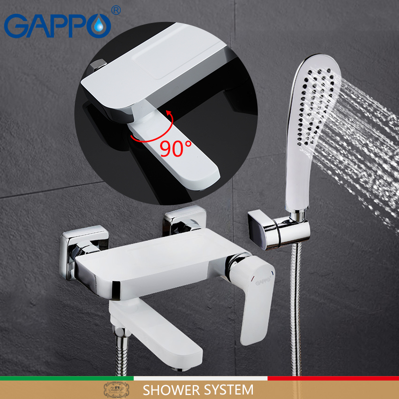 Здесь можно купить  GAPPO shower faucet bathroom faucet bath shower mixer basin sink faucet deck mounted rainfall Bathtub taps system                 Строительство и Недвижимость