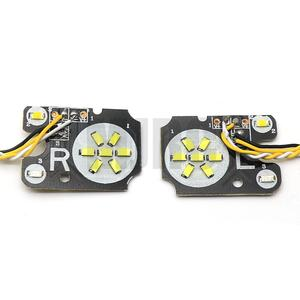 Image 3 - LED front/rear and IC headlights for 1/10 climbing car TRAXXAS Trx4 TRX 4 linkage light steering brake daytime running lights