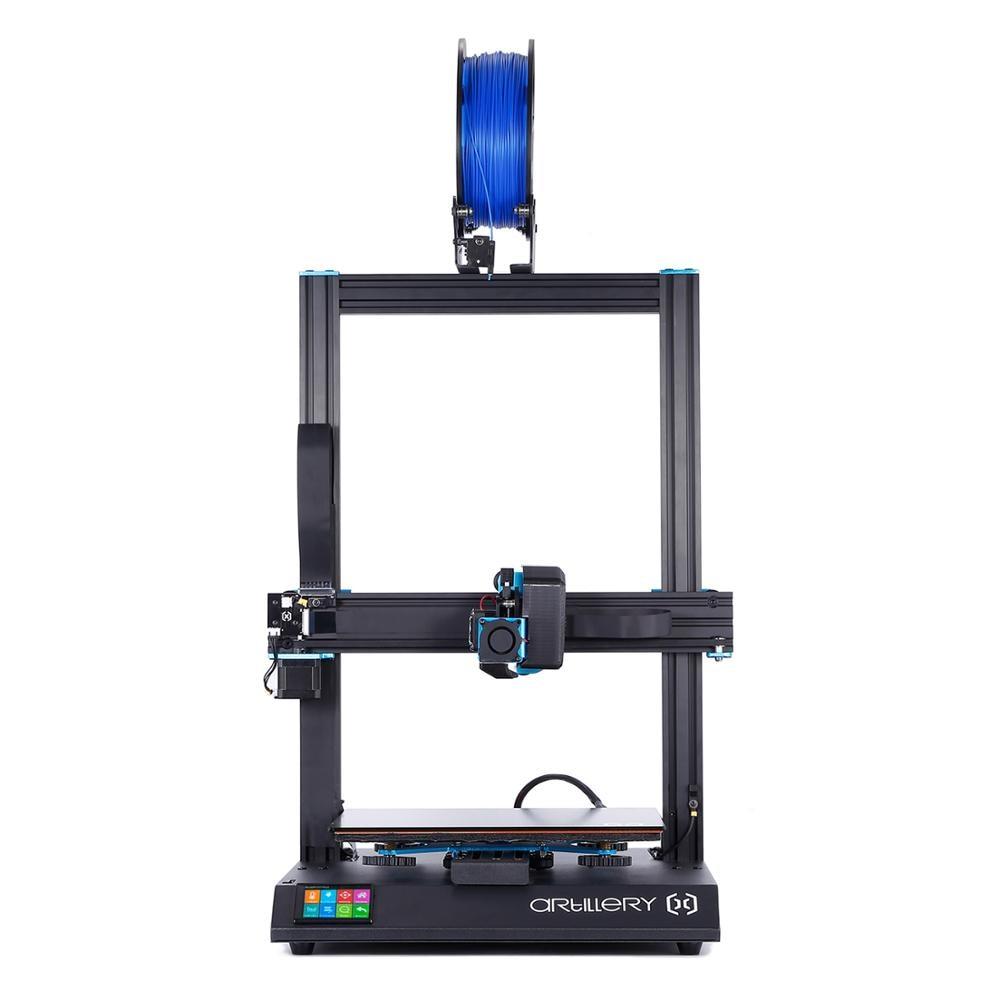 Impressora de artilharia 3D Sidewinder X1 SW-X1 300x300x400mm Grande Plus Size Alta Precisão Dupla do eixo Z tela Sensível Ao Toque TFT