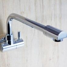 Superfaucet Стены Кран, Кухня Раковина Кран, Настенный Кухонный Кран, Настенный Смеситель Для Кухни, Кухонный Смеситель HG-135