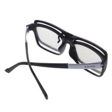 Круговые Пассивные Поляризационные 3D очки для ТВ реального 3D кино 0,22 мм 95AD