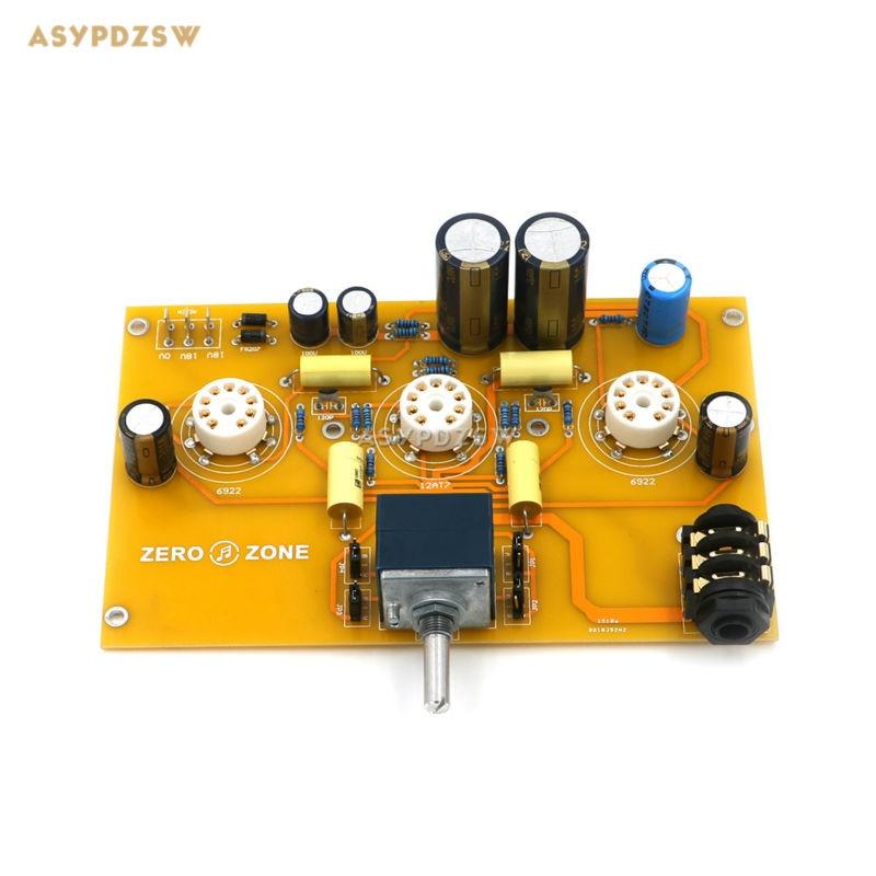 TU1-EMP V2 6922+12AT7 Tube headphone power amplifier finished board (Note no tubes) note udom no 12 bangkok