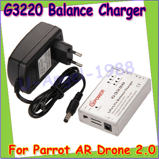 wholesale 1pcs portable lipo battery speed balance charger adapter g3220 for parrot ar drone 2 0. Black Bedroom Furniture Sets. Home Design Ideas