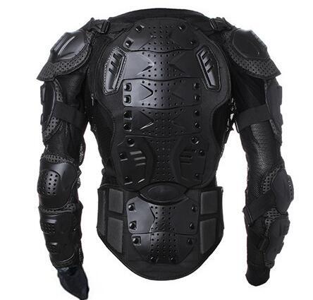 Noir Moto Moto cross Moto corps armure Protection garde veste hommes dos armure protecteur vêtements - 2