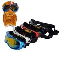 Pet di Protezione UV Occhiali Da Sole Occhiali Eye Wear Protection con Cinghia Regolabile per Medium Large Dog