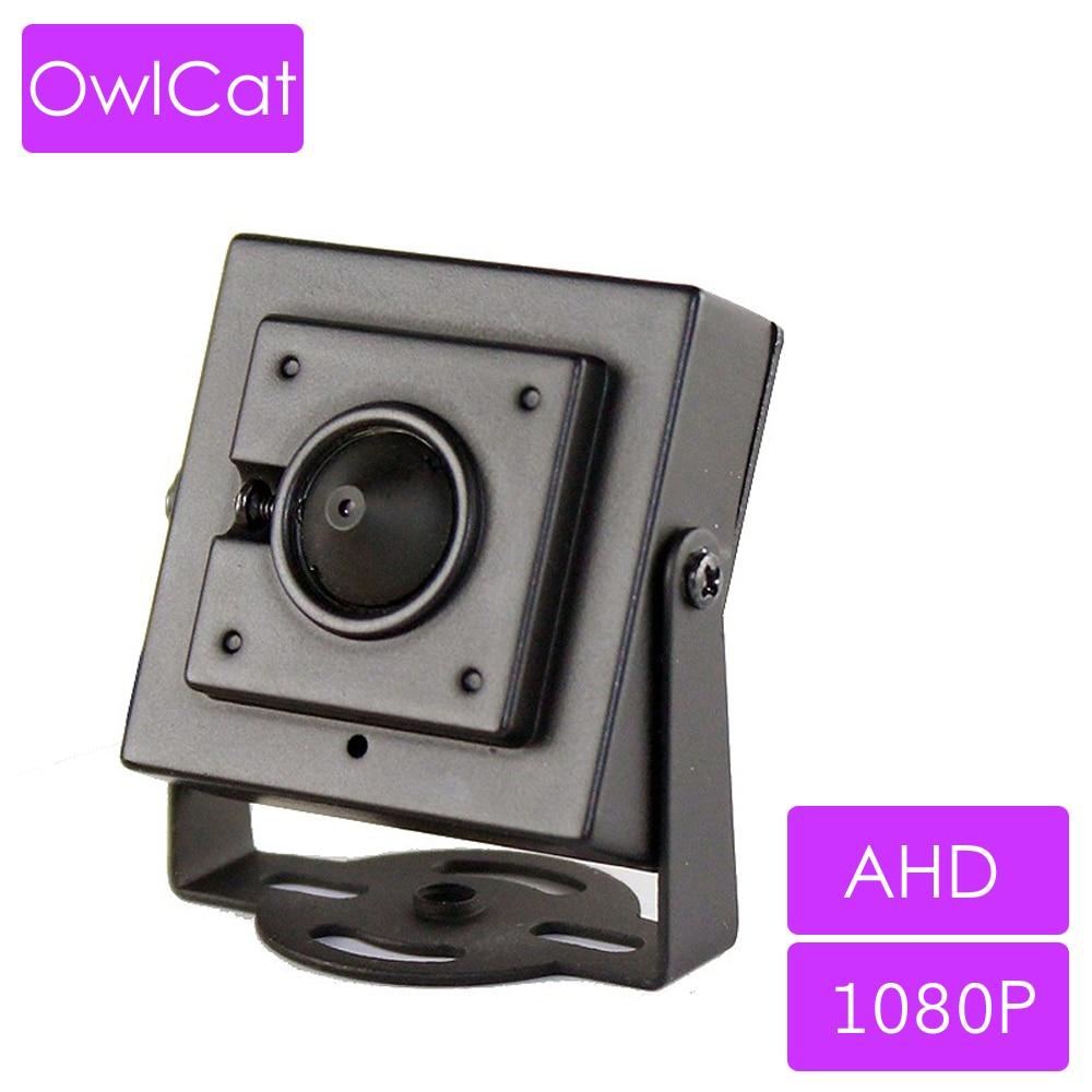 OwlCat Super Mini AHD CCTV Camera HD 1080P AHD-H Video Surveillance Security Cameras Metal Housing 3.7mm Lens 2MP Megapixels CamOwlCat Super Mini AHD CCTV Camera HD 1080P AHD-H Video Surveillance Security Cameras Metal Housing 3.7mm Lens 2MP Megapixels Cam
