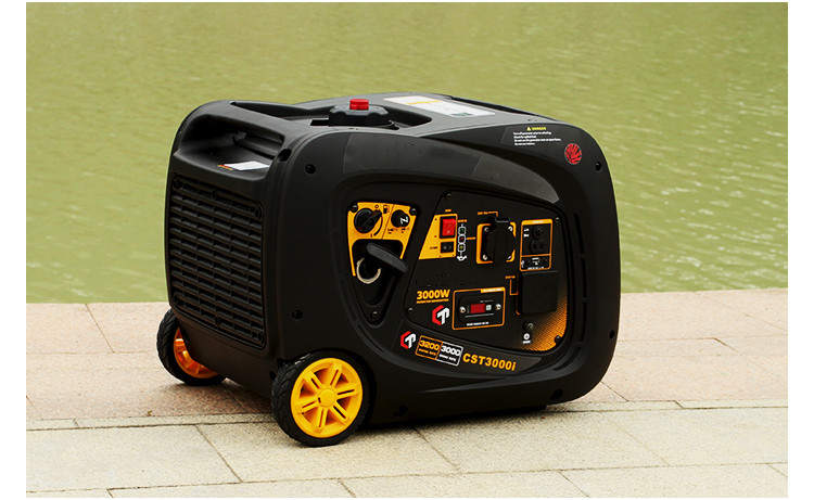HTB1MiYPayHrK1Rjy0Flq6AsaFXac - small family trailer 3kw digital frequency conversion four-stroke gasoline generator 220V silent generator