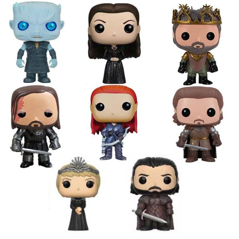 Game of Thrones Caratteri Vinyl Figure Collection Giocattoli di Modello con la scatola al minuto per la raccoltaGame of Thrones Caratteri Vinyl Figure Collection Giocattoli di Modello con la scatola al minuto per la raccolta