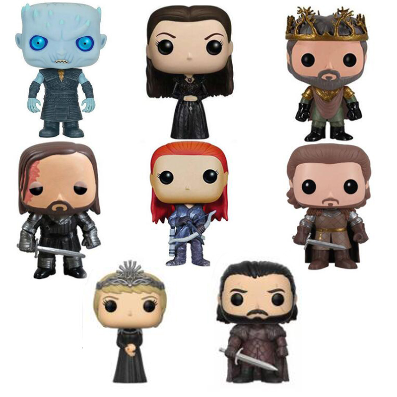 Game of Thrones Characters Vinyl Figure Collection Model Toys with retail box for collectionGame of Thrones Characters Vinyl Figure Collection Model Toys with retail box for collection