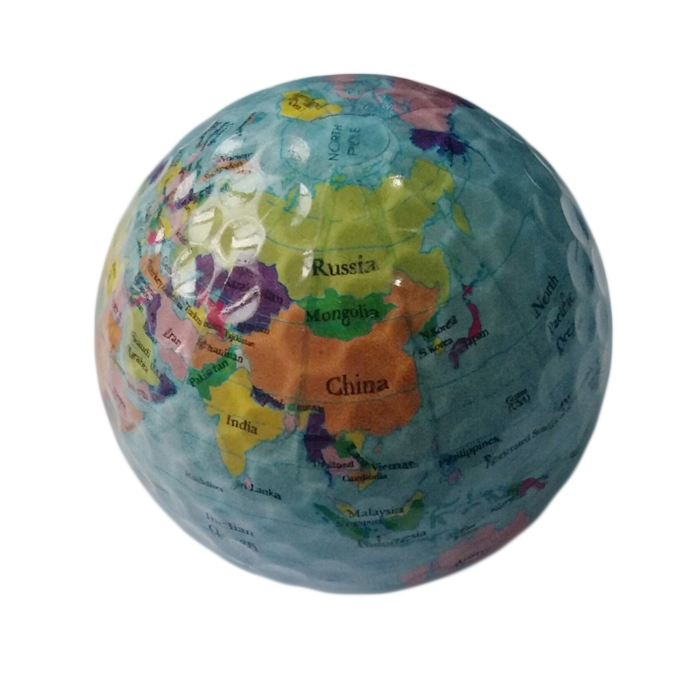 NEW Creative Globe Map Golf practice
