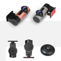 PARASOLANT HD Hidden Mini Camera Single Lens 360 Degrees Panoramic Driving Recorder Car Camera Support Loop