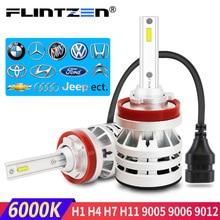 Flintzen h4 led car headlight h7 led headlight auto car fog lamp h1 h11 car light for toyota corolla bmw e36 e60 honda golf ect. цена 2017