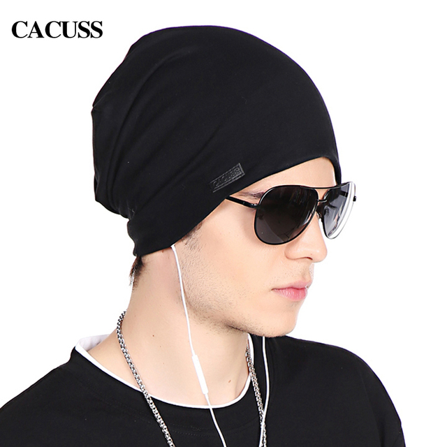 Cacuss puro algodón beanie hat para hombres y mujeres casquillo de hip-hop mujeres Cabeza capTurban Sombrero Del Casquillo Del Sombrero Femenino Cap Calle Sportwear Al Aire Libre