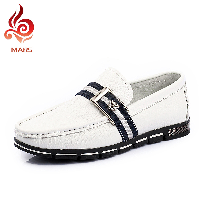 ФОТО 2015 Men Loafer Shoes Full Grain Leather Shoes Men Fashion Brand New Men Driving Loafers Soft Moccasins Men Size:38-43 YD1571