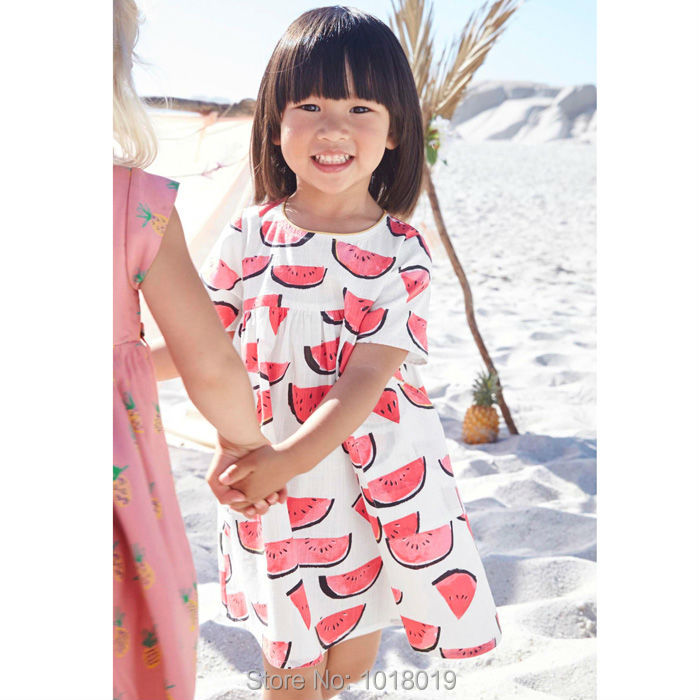 New 2018 Summer Baby Girls Dress Brand Quality 100% Cotton Baby Girl Clothes Children Clothing Bebe Dress Kids Dresses For Girls