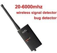 20 6 Ghz scanner sem fio detector de sinal localizador GPS Detector de Sinal bug espião especial Micro Onda Anti Escutas Telefônicas detector detector -