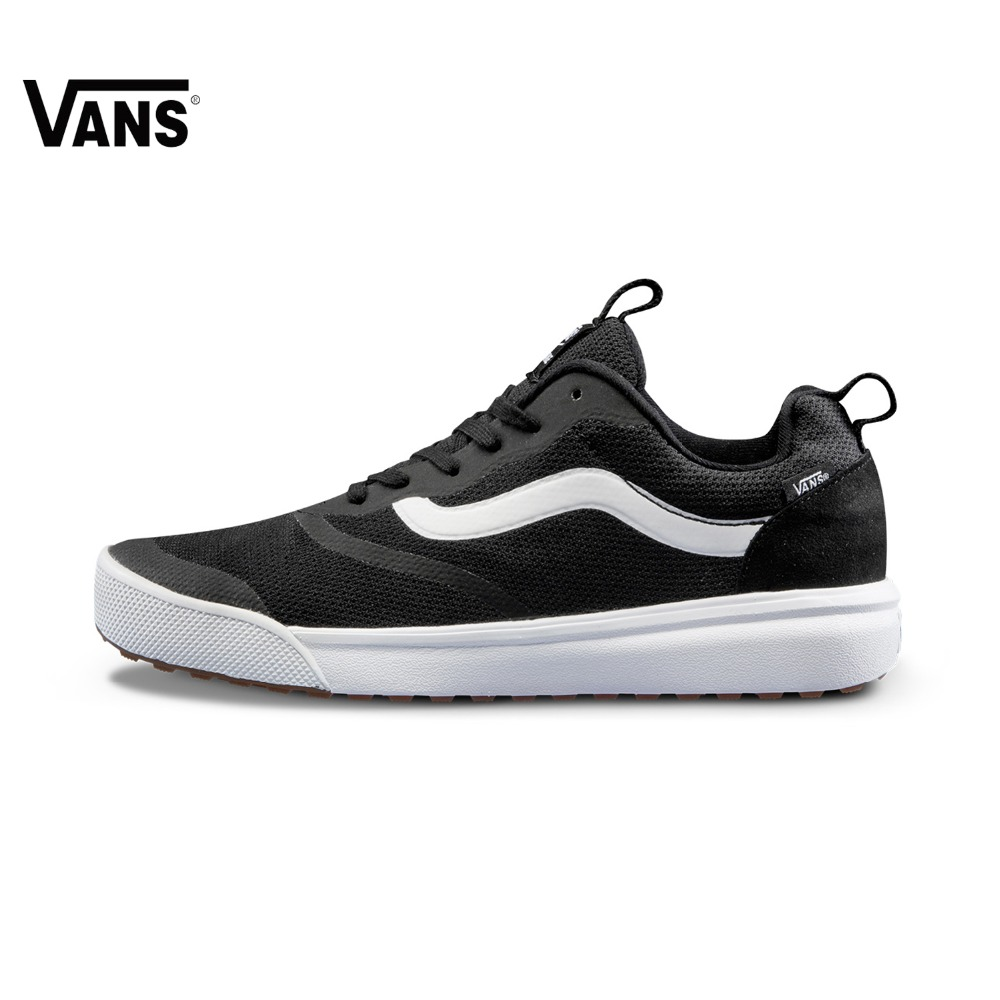 Original Vans New Arrival Autumn Black and Gray Men's Skateboarding Shoes Sports Shoes Canvas Shoes Sneakers free shipping цена