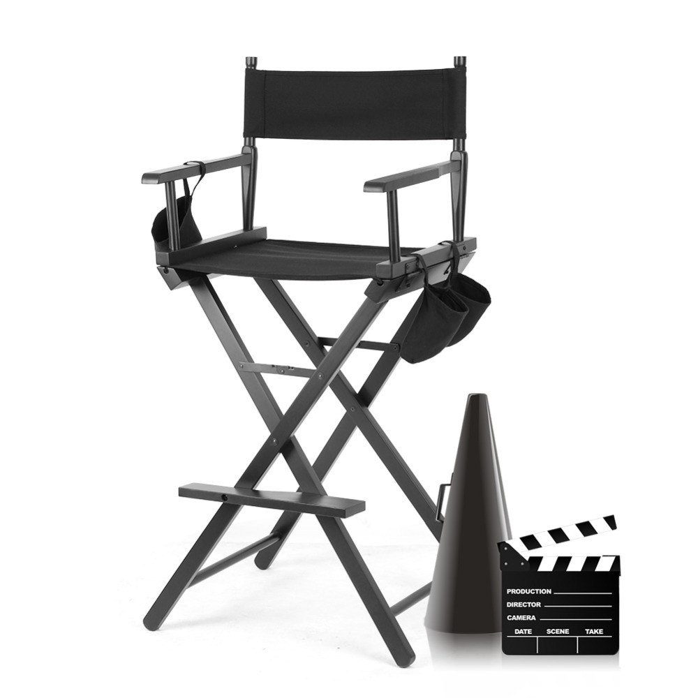 outdoor director chair. High Aluminum Frames Makeup Artist Actors Director Chair Folding Outdoor Furniture Lightweight Portable Foldable Chair-in Living Room Chairs From