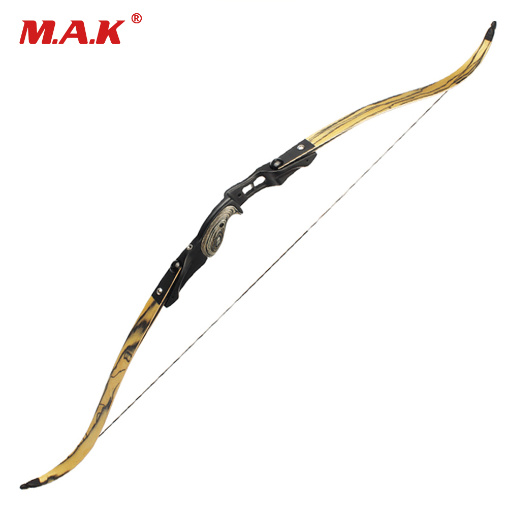 30-60 lbs American Recurve Bow 2 Color 60 Inches in IBO 190FPS with 17 inches Riser for Archery Bow Hunting Shooting 2 color 58 inches american hunting recurve bow 25 50 lbs for outdoor archery hunting target shooting
