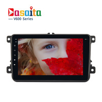 Dasaita 8 Android 6 0 Car GPS Player For VW Volkswagen Golf 5 6 Polo Passat