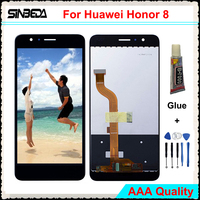 Sinbeda AAA Quality LCD Screen For Huawei Honor 8 LCD Display Touch Screen Digitizer Assembly Replacement