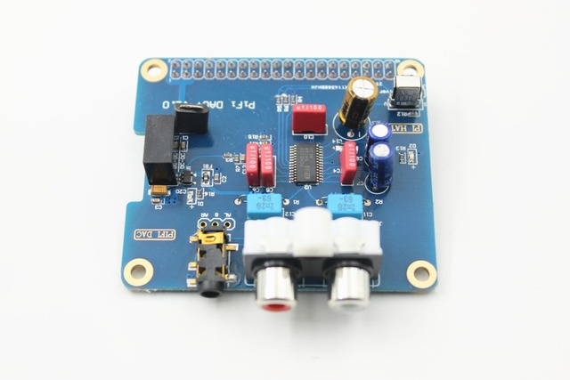 HIFI DAC Scheda Audio Module interfaccia I2S per Raspberry pi B + 2