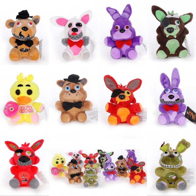 15-18cm-Five-Nights-At-Freddy-s-Plush-Toys-FNAF-Freddy-Bear-Nightmare-Springtrap-Mangle-Foxy (1)