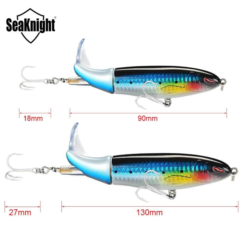SeaKnight Topwater Whopper Plopper 13 г/90 мм 19 г/110 мм 39 г/130 мм 5 шт./лот жесткая приманка для рыбалки VMC Крючки рыболовные