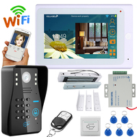 YobangSecurity Video Intercom 7 Inch Monitor Wifi Wireless Video Door Phone Doorbell Camera Intercom System APP