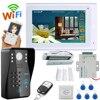 YobangSecurity Video Intercom 7 Inch Monitor Wifi Wireless Video Door Phone Doorbell Camera Intercom System APP