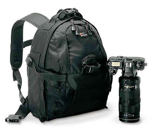 NEW Genuine Lowepro Mini Trekker AW Waterproof DSLR Camera Backpack Padded Laptop Bag