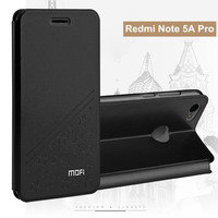 MOFi Luxury Lucky Star PU Leather Case For Xiaomi Redmi Note 5A Pro Cover Stand Phone