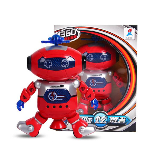 Educational toys 2017 Electronic Walking Dancing Smart Space Robot Astronaut Kids Music Light Toys D40