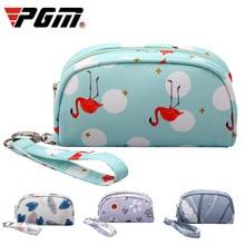 Golf Handbag Ladies PGM Towel/ball Waterproof Women for D0733 Printing-Bags Zipper-Up