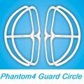 4 unids/lote DJI Phantom 4 de Liberación Rápida Escudos Phantom4 anticolisión Guardia de Protección Propulsor Protector de La Hélice