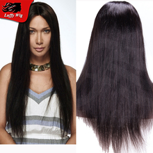 Cheap Silky Straight U Part Wigs With Baby Hair Glueless Virgin Brazilain Human Hair U Part Wigs Straight Middle Part For Sale