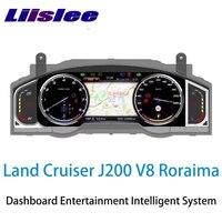 LiisLee инструмент Панель Замена приборной панели развлечения интеллигентая (ый) Системы для Toyota Land Cruiser 200 J200 LC200 Roraima