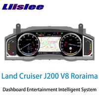 LiisLee Instrument Panel Replacement Dashboard Entertainment Intelligent System for Toyota Land Cruiser 200 J200 V8 Roraima