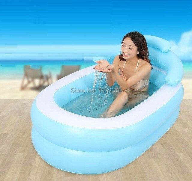 Free Shipping adult SPA bathtub folding tub inflatable bath tub ...