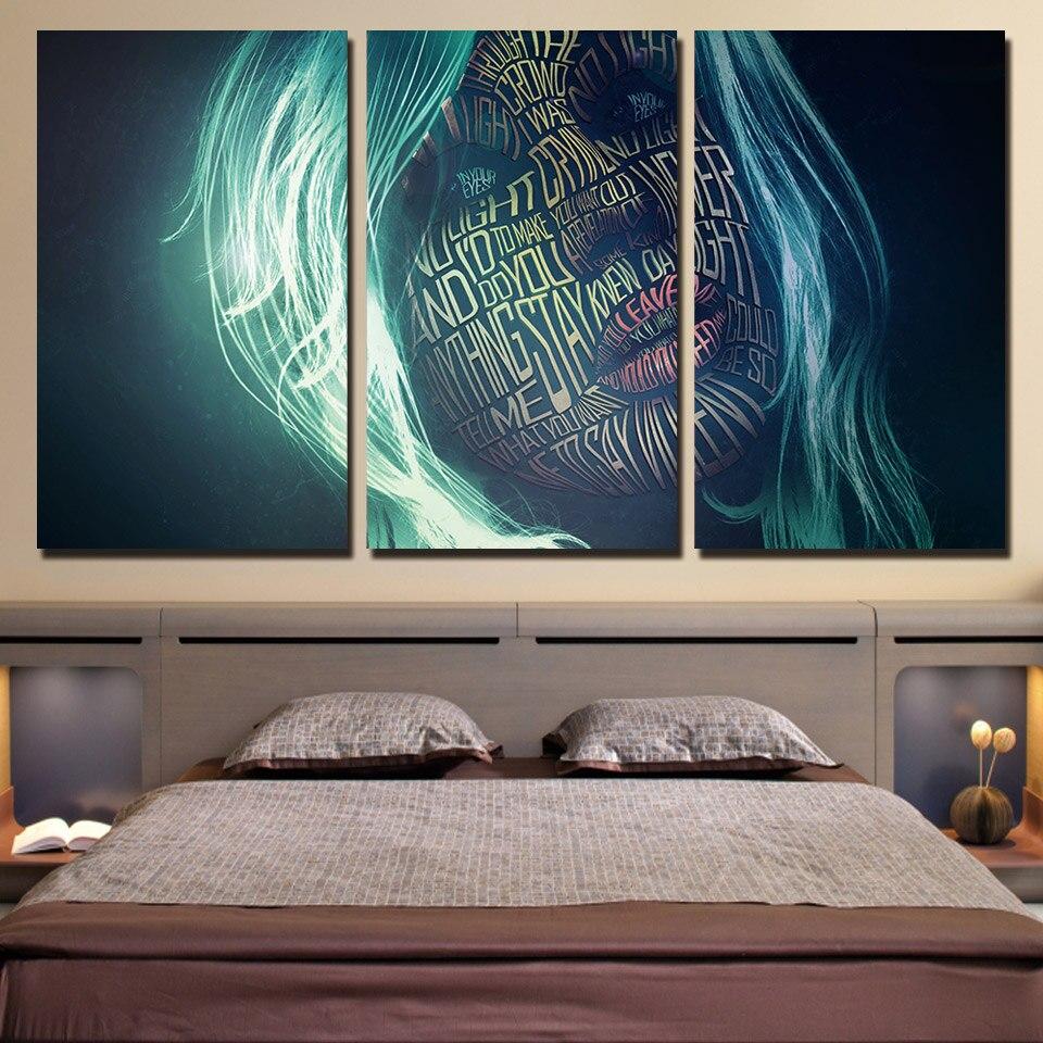 Cartazes Da Arte Da Parede Para Sala De Estar Home Decor Quadros  -> Quadro De Parede Para Sala Abstrato