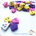50 unids Creativo tipo de Dientes Dental Clinic Regalo del borrador de lápiz, regalo especial para el dentista laboratorio Médico papelería
