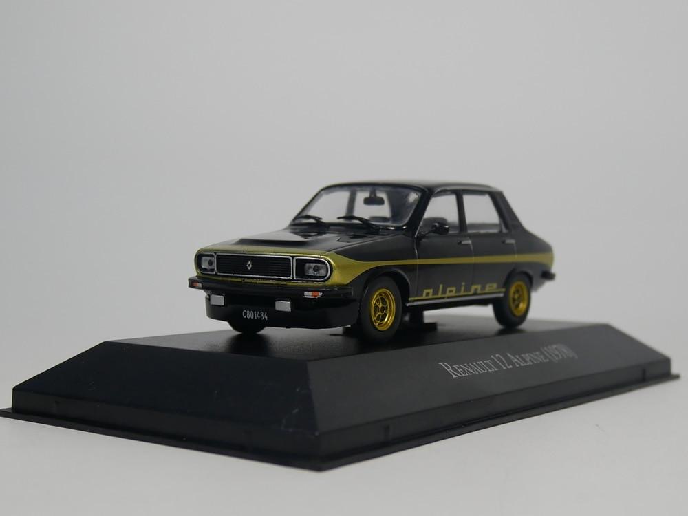 Ixo 1:43 RENAULT 12 ALPINE 1978 Diecast Model Car