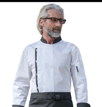 New Top quality Autumn Winter Chef Cook Uniform long-sleeve hotel restaurant kitchen chef jacket cook work wear white/black