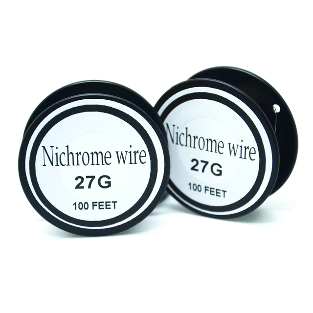 Nichrome wire 27 Gauge 100 FT(0.35mm) =30meters Resistance ...