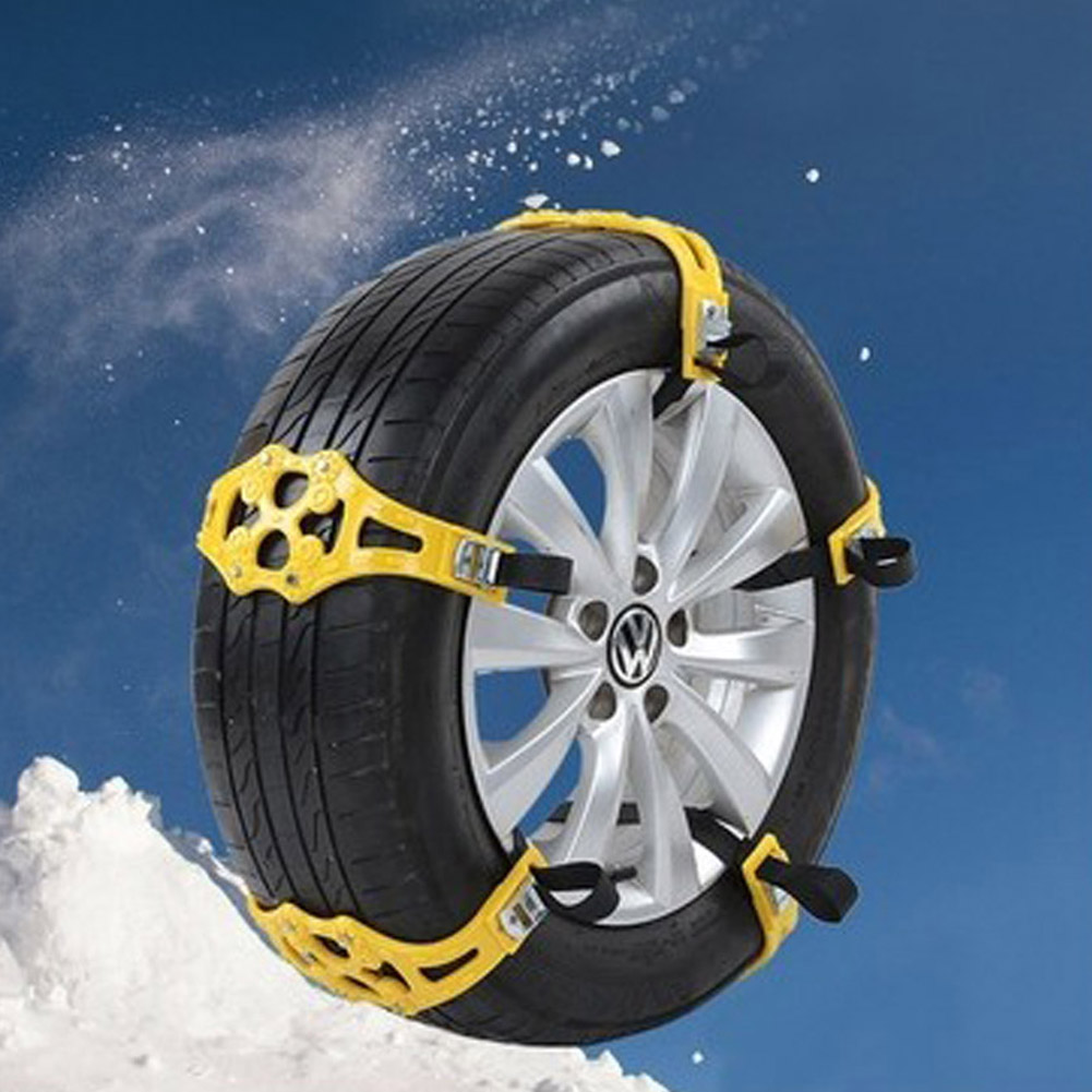 2017 Brand 1PCS Car Use Snow Tire Anti-skid Chains Nylon Resin CAR0345 tie for snow & dirt road
