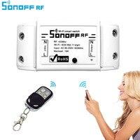 ITEAD Sonoff Wifi Akıllı Kablosuz Uzaktan Kumanda 433 mHz RF Otomasyonu Zamanlayıcı ABS Evrensel Modülü via app Akıllı Ev