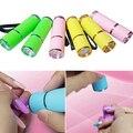 Portable Mini 9 LED Nail Dryer UV Gel Nail Polish Curing Lamp Flashlight Torch 9OKN